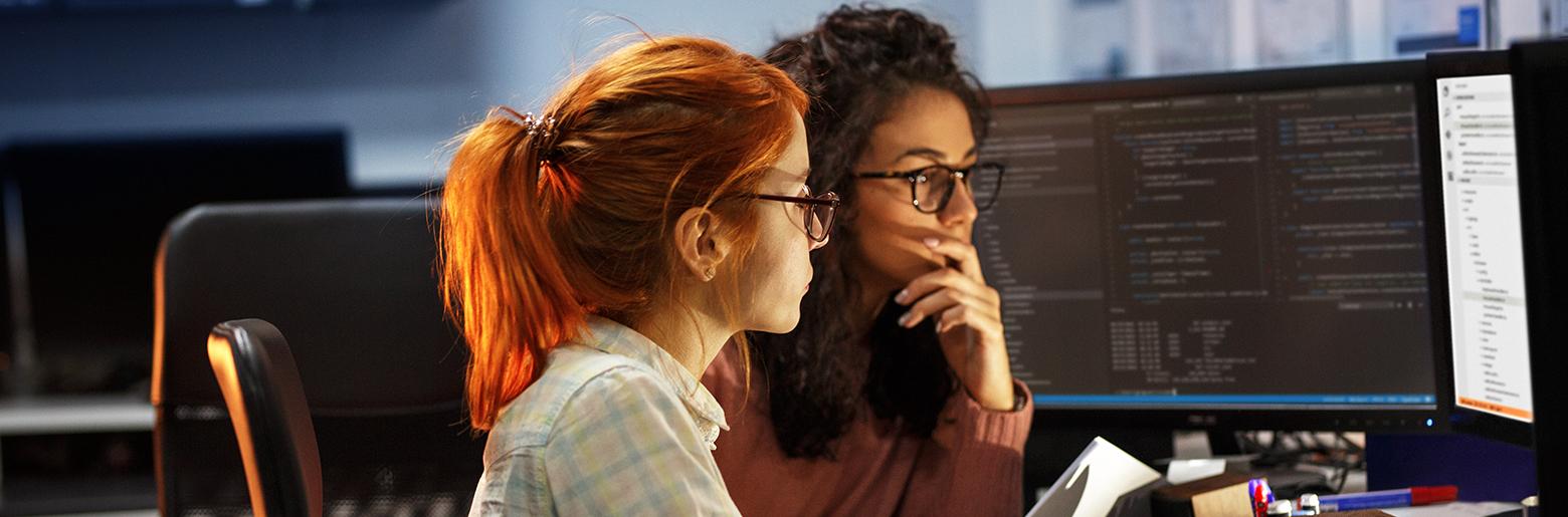 Konsentrert samarbeid ved PC