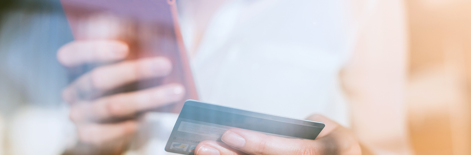 Betale med kredittkort på mobil