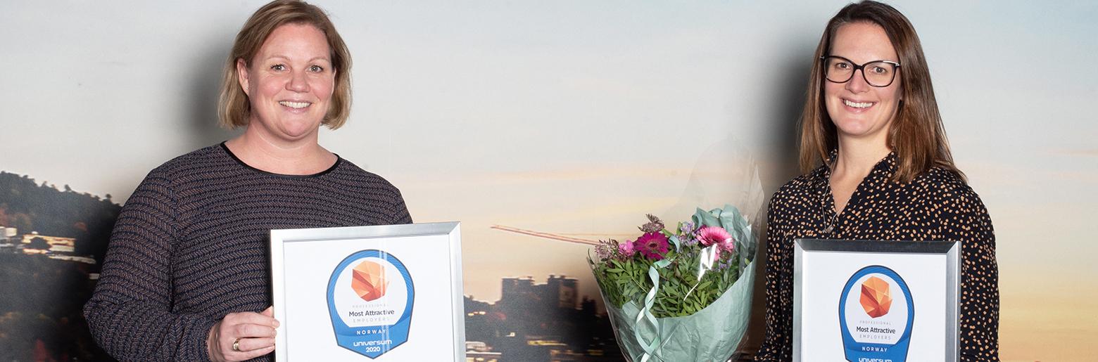Universum-kåring Sopra Steria ved Beathe Lassen Megan Strand