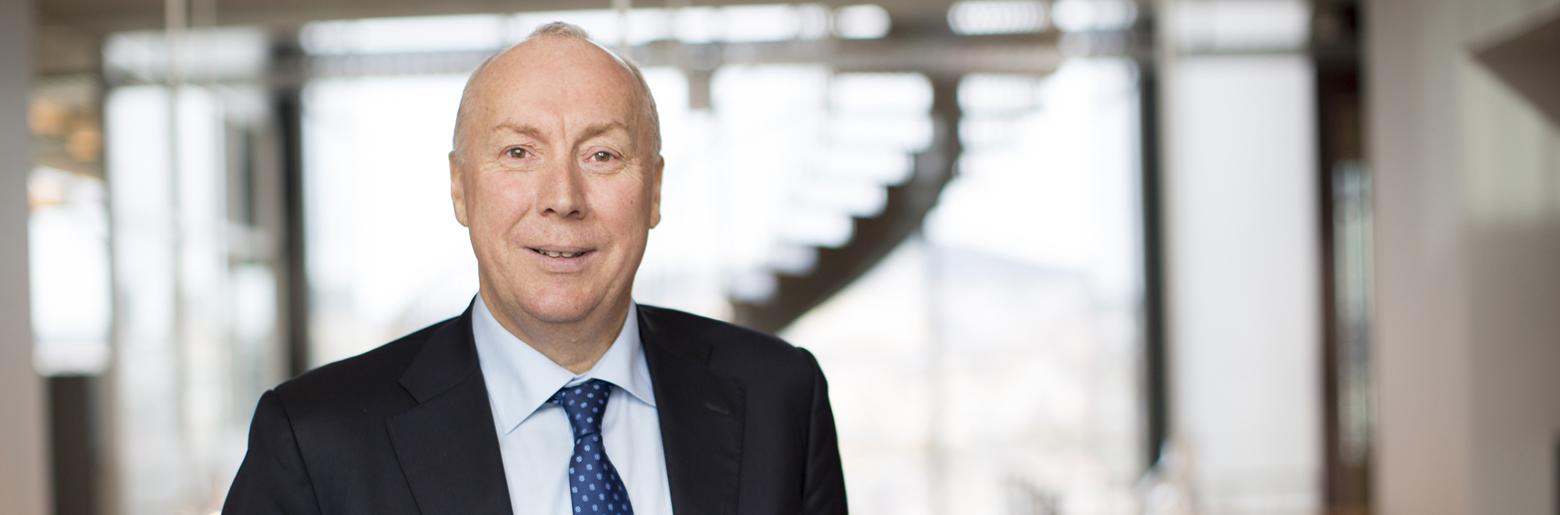 Drifter skatt: Sopra Steria, ved administrerende direktør Kjell Rusti, skal drifte skatteinnkrevingssystemet SOFIE.