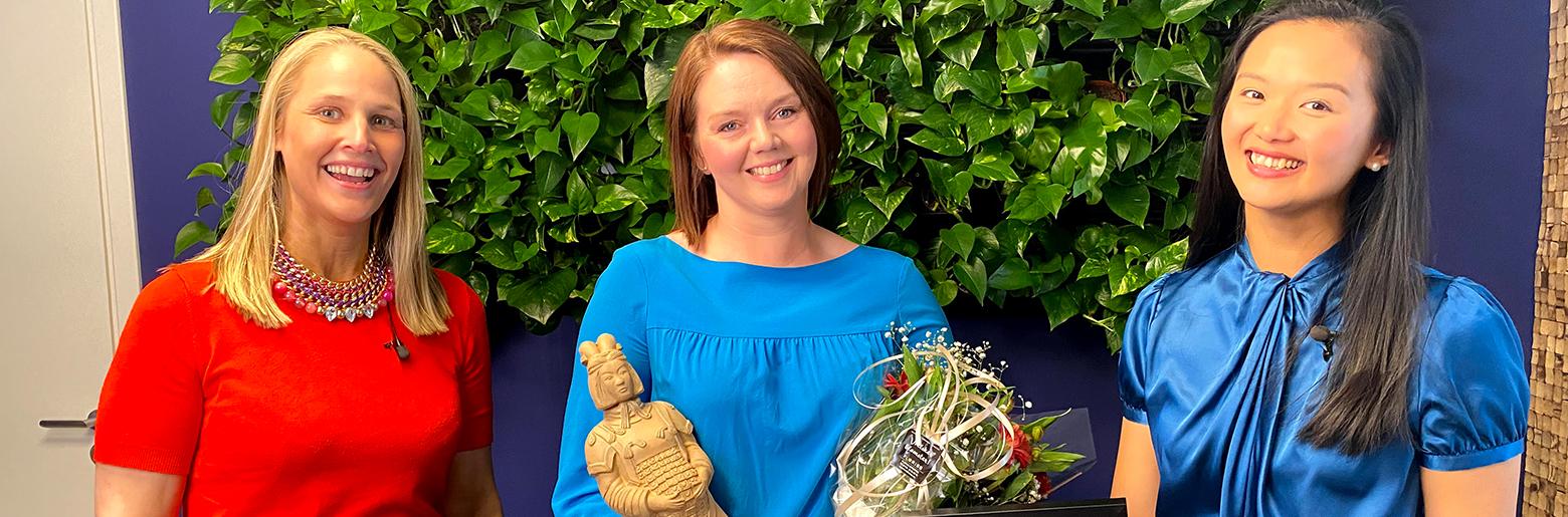 Lillian Røstad vinner i Oda Awards