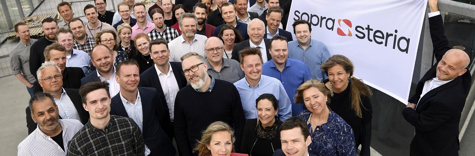 FLYTTER INN I PLUSSHUS. Sopra Sterias 70 medarbeidere i Trondheim er på plass i plusshuset Powerhouse Brattørkaia.