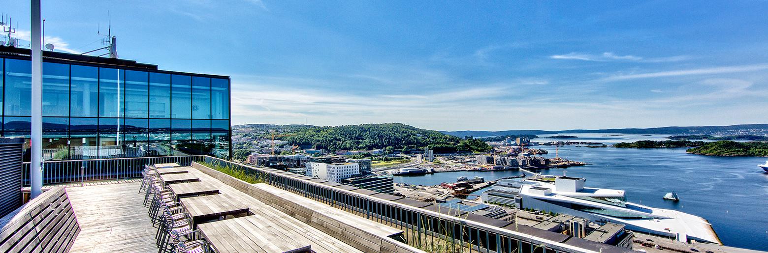 Utsikten fra Posthuset