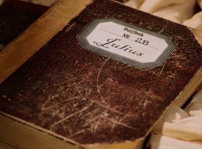 Julius sin dagbok fra TV-serien Snøfall på NRK