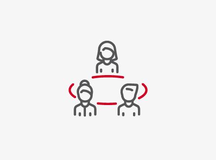 Illustrasjon ikon Samhandling_dokumentasjon