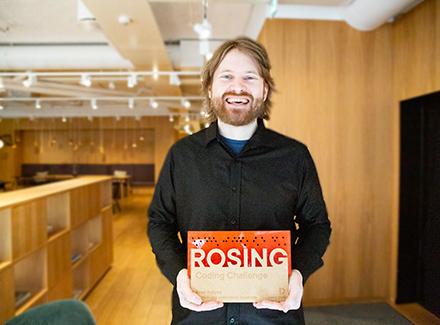 Even Frøyen vinner Rosing Coding Challenge