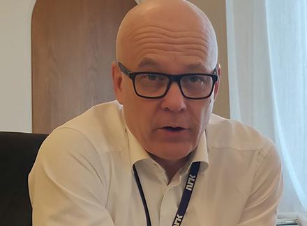 Kringkastingssjef i NRK Thor Gjermund Eriksen