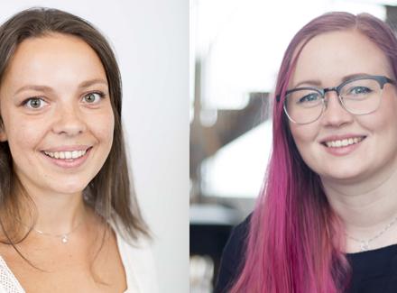 Eksperter: Anna Brøyn og Marit Iren Rognli Tokle er begge på den gjeve listen til Tech Role Models.