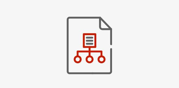 Illustrasjon ikon prosjektledelse_lav